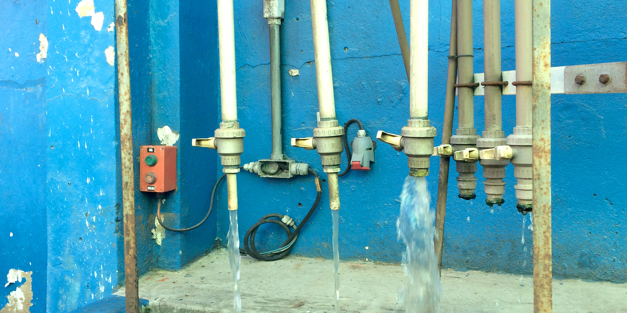 Process water and (bio)fouling