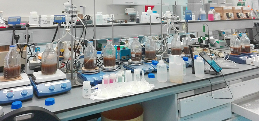 Biological air treatment